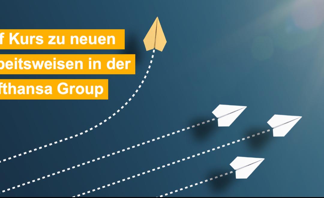 Auf Kurs zu neuen Arbeitsweisen – Einführung von Office 365 bei der Lufthansa Group (IOM Summit 2021)